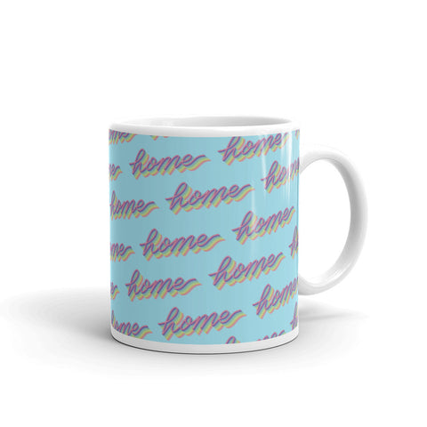 Cute Home Pattern Mug