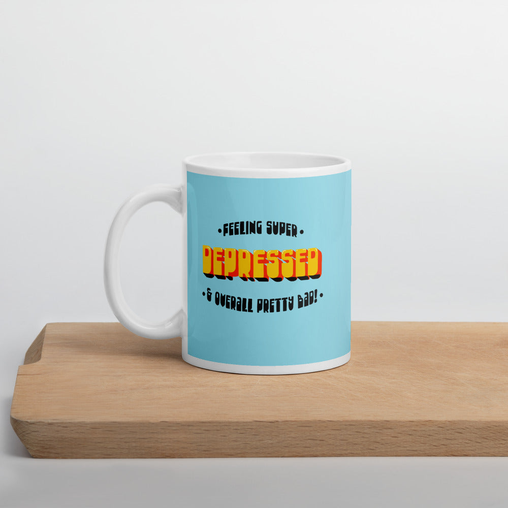 Colorful Depression Mug