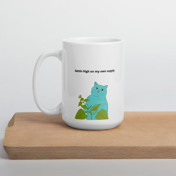 Funny Cat Mom Catnip Mug