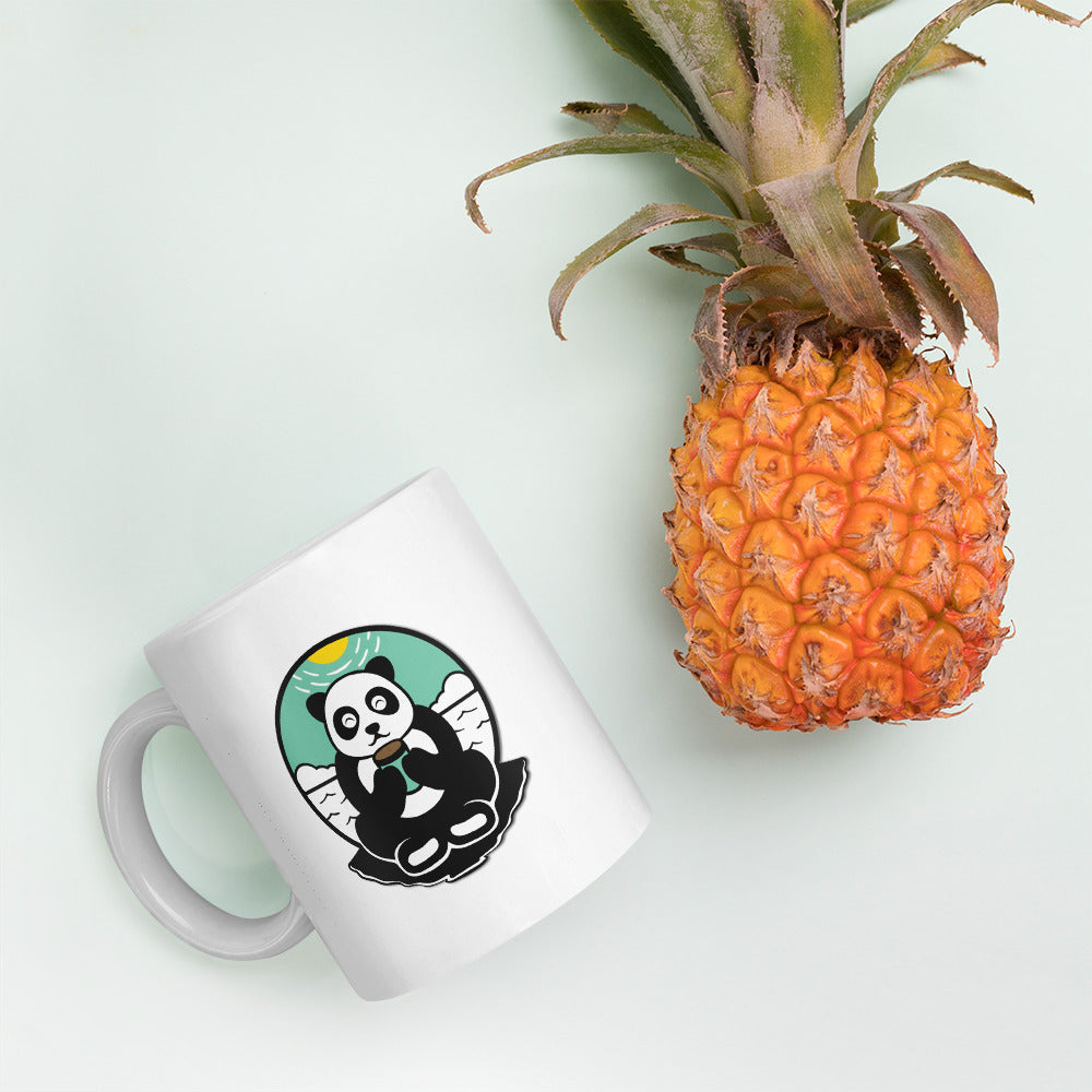 cute panda coffee mug
