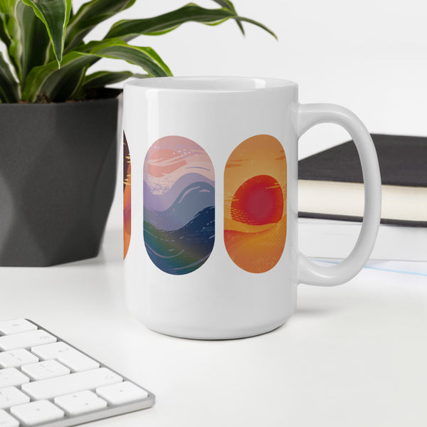 Earth Wind Fire Elements Mug
