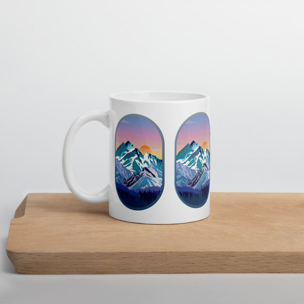 Rocky Mountains View Mug