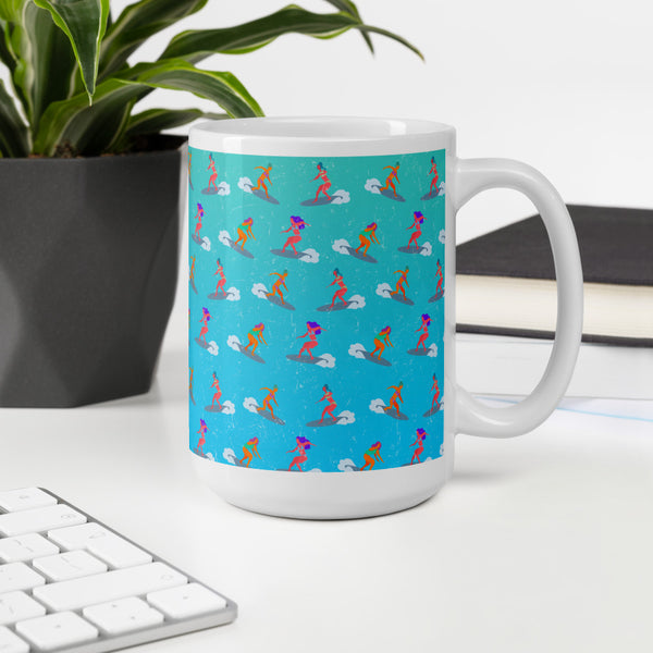 Surfer Girls Mug
