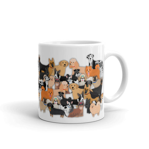 dogs everywhere mug