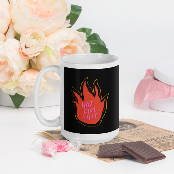 I can't talk right now i'm doing hot girl shit mug