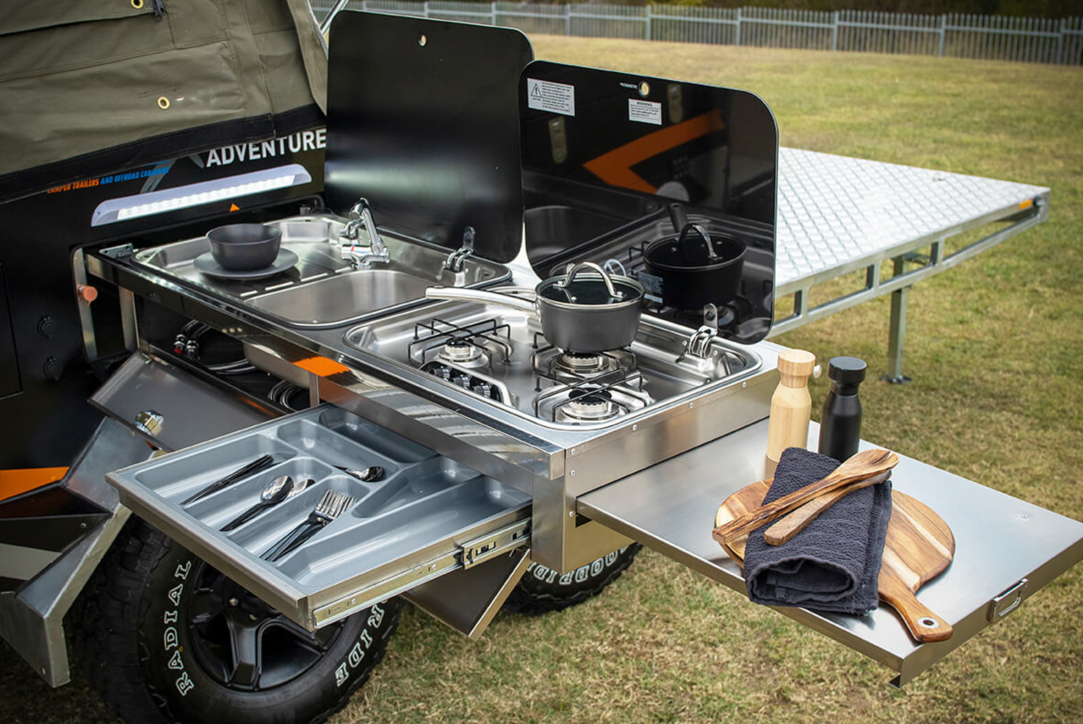 Xpedition Hauler Camper