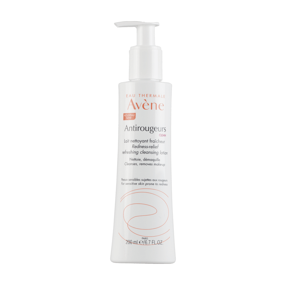 Avène Antorougeurs Clean Leite de Limpeza 200ml - My Cosmetics