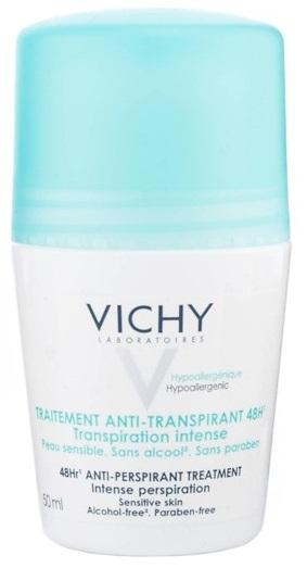 Vichy Tratamento Antitranspirante 48 Horas - Roll-On 50ml