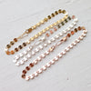 Sequin Bracelet {Silver, Gold, or Rose Gold}
