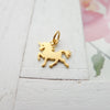 Unicorn Gold Charm  (NGA1432)