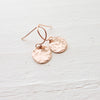 Everyday Hammered Dot Earrings {Silver, Gold, or Rose Gold}