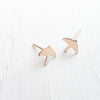 Singing in the Rain Stud Earrings in Silver and Gold