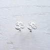 Om Stud Earrings #2