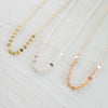 Sequin Chain Necklace {Silver, Gold or Rose Gold}