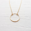 Eternity Necklace {Silver, Gold, or Rose Gold}