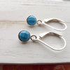 Turquoise Leverback Earrings