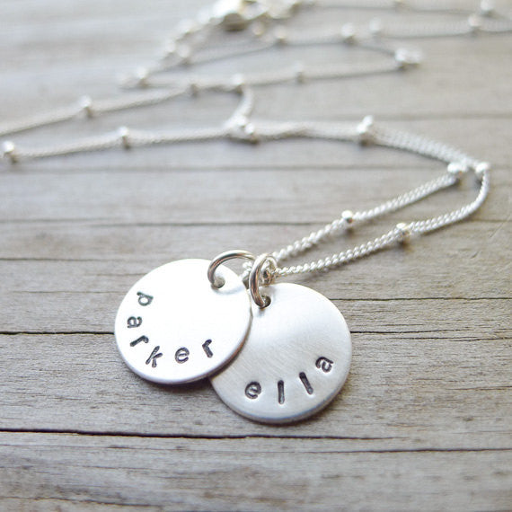 Mini Mom Necklace with Names