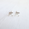 Umbrella Stud Earrings {Silver or Gold}