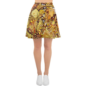 Yellow Sunshine Twirl Skirt