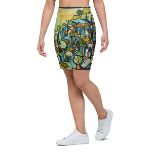 Hillside Pencil Skirt