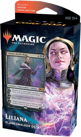 Magic the Gathering CCG: Core 2021 Planeswalker Deck - Liliana, Death Mage (PRE-ORDER)