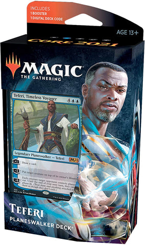 Magic the Gathering CCG: Core 2021 Planeswalker Deck- Teferi, Timeless Voyager (PRE-ORDER)