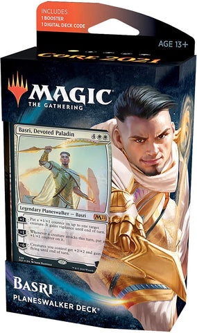 Magic the Gathering CCG: Core 2021 Planeswalker Deck - Basri Ket, Devoted Paladin (PRE-ORDER)