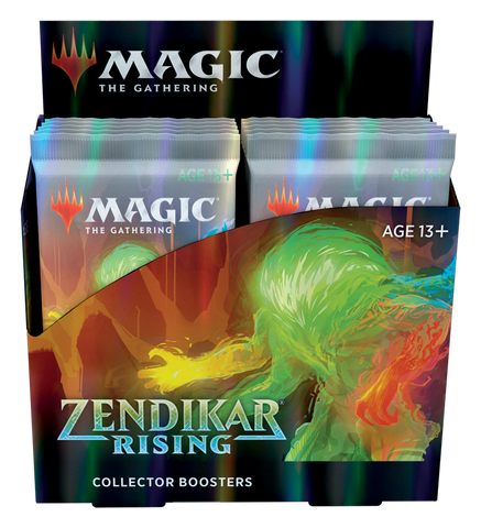 Magic the Gathering CCG: Zendikar Rising Collector Booster Display (12) (PRE-ORDER)