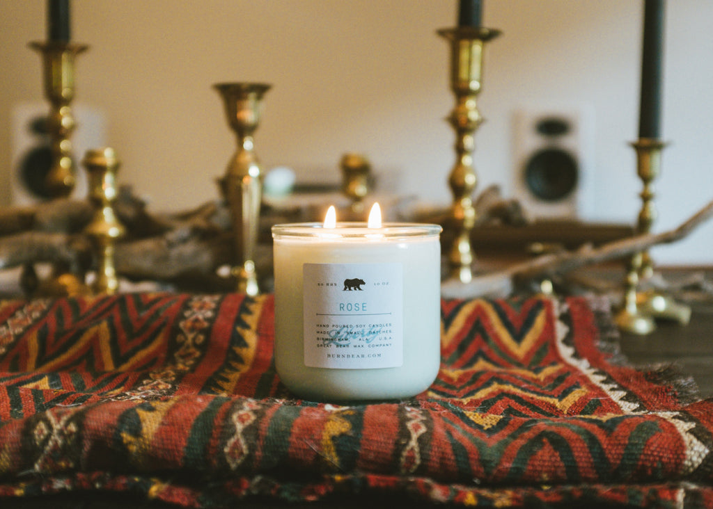 Rose Candle - Liberty Collection