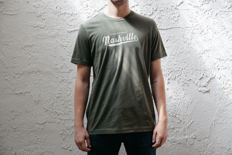 Nashville Tee - Army Green