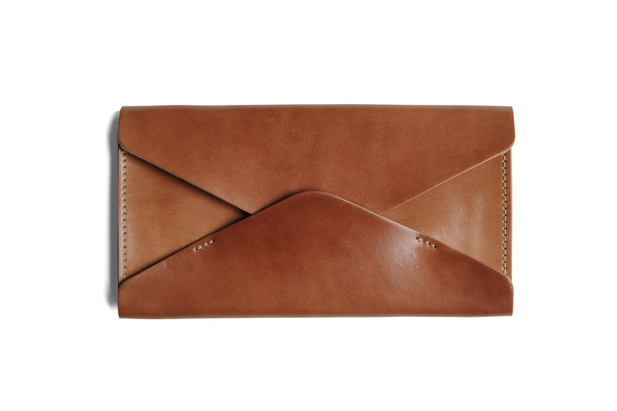 Willa Wallet - Horween Natural Shell Cordovan