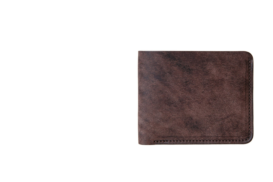 Klein Wallet - Dark Brown Pueblo