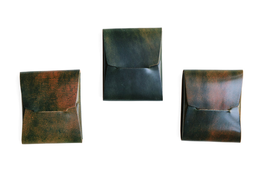 Johnny Wallet - Marbled Horween Shell Cordovan