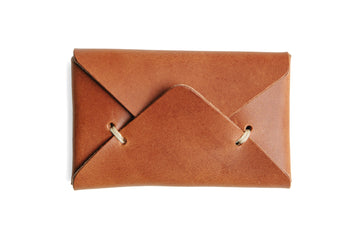 Envelope Wallet - Tobacco
