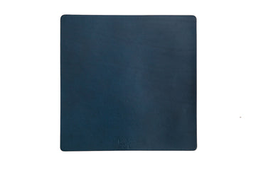 Leather Mousepad - Blue Italian Veg Tan
