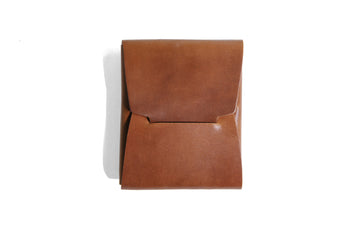 Johnny Wallet - Horween Bourbon Shell Cordovan