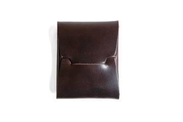 Johnny Wallet - Dark Cognac Horween Shell Cordovan