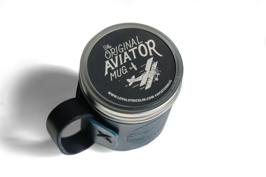 The Aviator Mug - Landscape - Blue