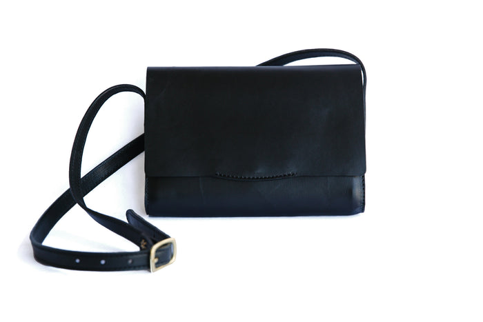 Jean Crossbody - Black - Preorder