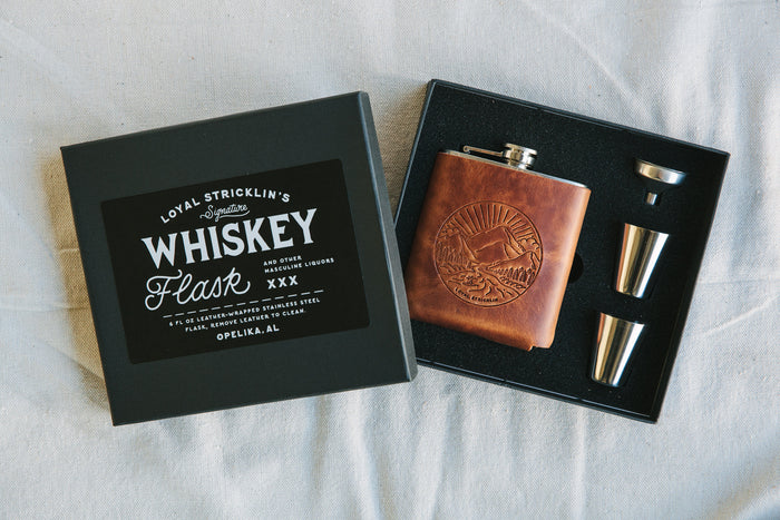Signature Whiskey Flask - Whiskey