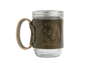 The Aviator Mug- Olive Airplane