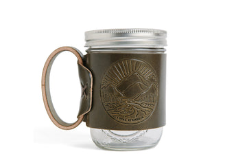 The Aviator Mug- Olive Landscape