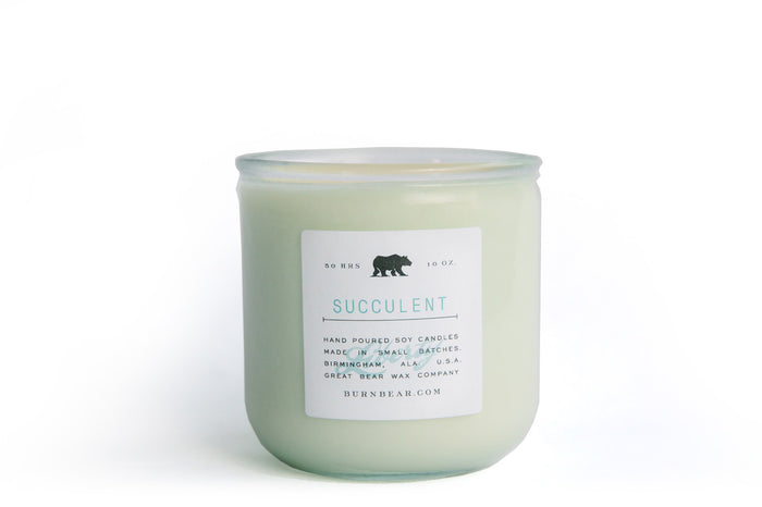 Succulent Candle - Liberty Collection