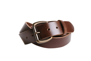 Heavy Duty Belt - Walnut