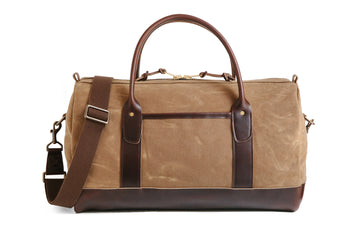 Weekend Duffle - Brush Brown