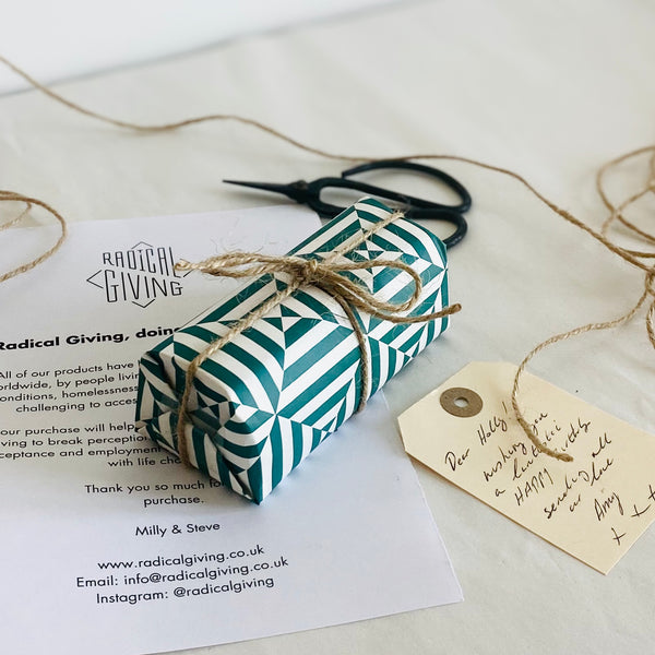 Radical Giving - Gift Wrapping