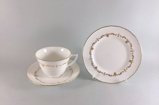 Royal Worcester - Gold Chantilly