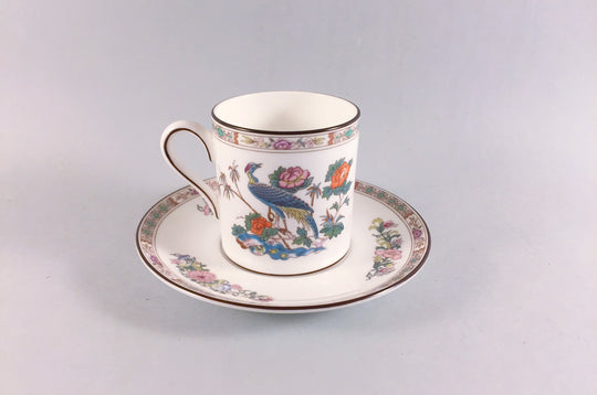 Wedgwood - Kutani Crane - Brown Edge