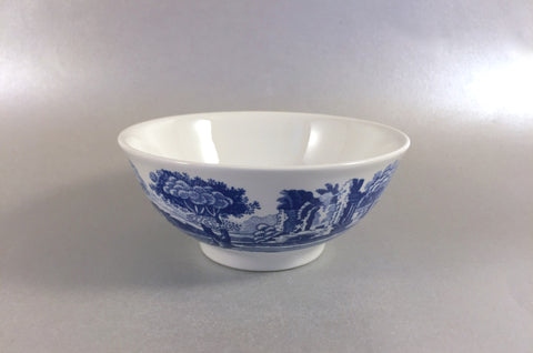"Spode - Italian - Blue (New Backstamp) - Bowl - 4 3/8"" - The China Village"