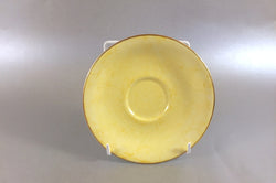 "Royal Albert - Gossamer - Tea Saucer - 5 1/2"" - Yellow"